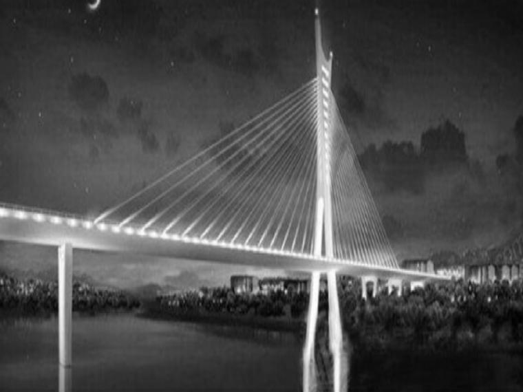 [泸州]矮塔斜拉桥(不对称拉索)施工组织设计(图文丰富,455页)