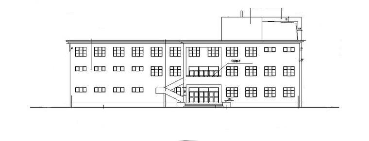 洗浴中心会所建筑设计方案初设图CAD