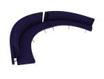 紫色沙发3D模型下载