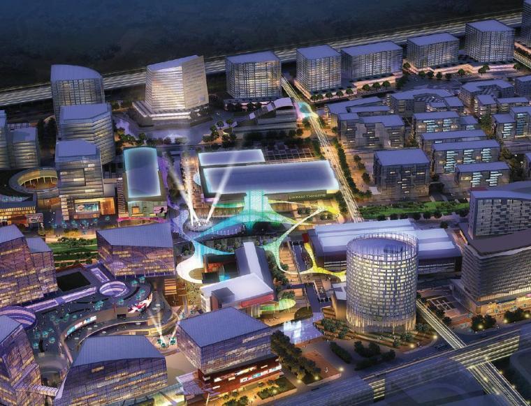 [浙江]高层现代风格城市综合体建筑方案文本(300多张超详细)