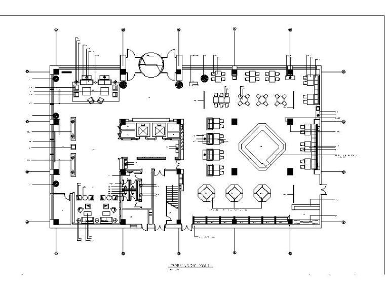 [鄂尔多斯]欧式精装酒店会所设计施工图(含效果图)