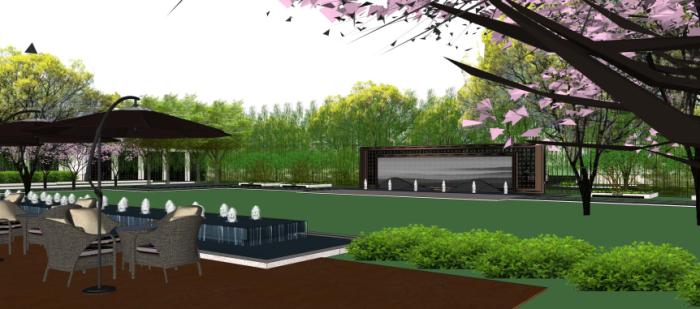 [安徽]山林水园精品典藏住宅景观设计方案