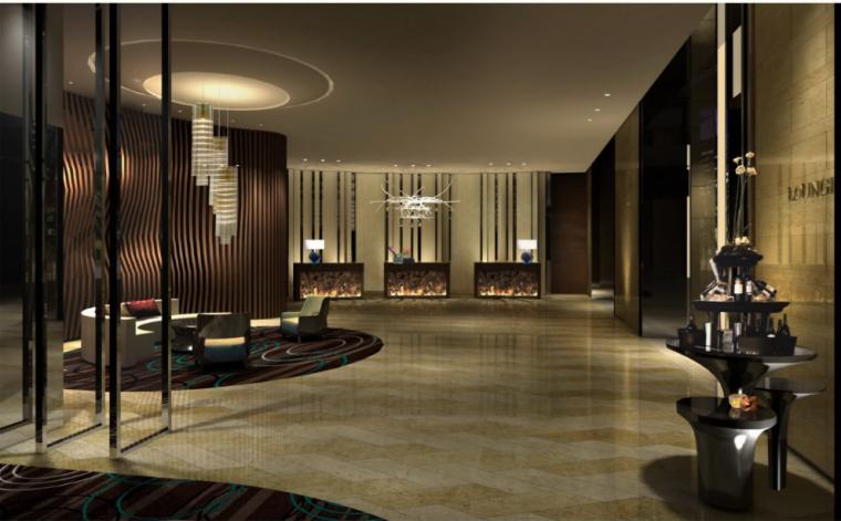 绿地济南高铁酒店室内设计方案(含效果图)_5