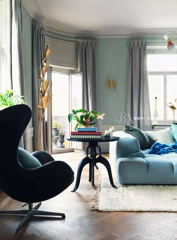 高级灰+蓝色,天生骄傲,打造优雅的高贵感_27