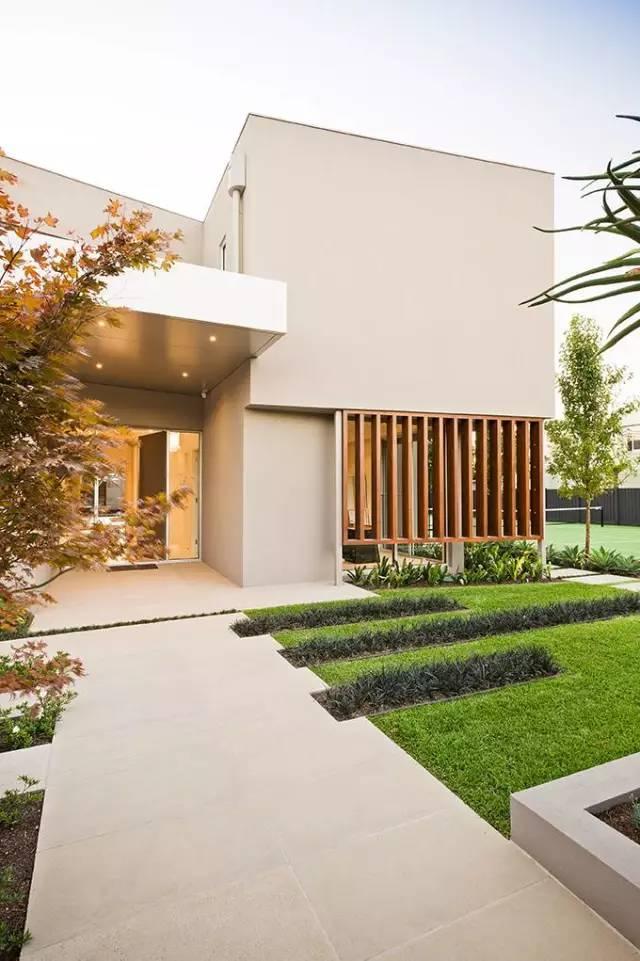 赶紧收藏!21个最美现代风格庭院设计案例_174