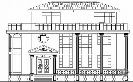 [福州市区]某三层私人别墅建筑施工图