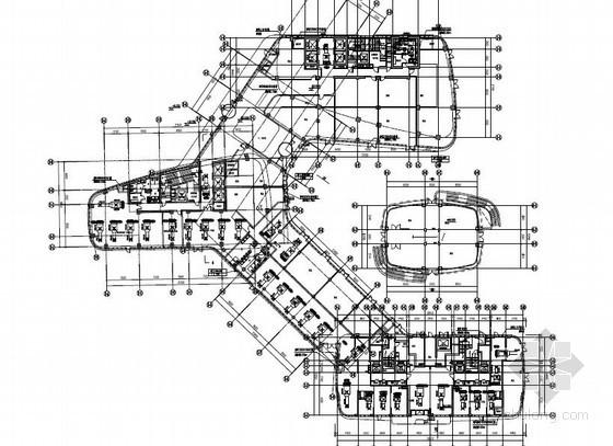 [上海]商业办公楼暖通空调设计施工图(知名设计院,PDF格式)