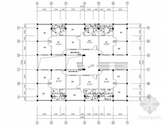 [广东]五层住宅楼水电照明施工图