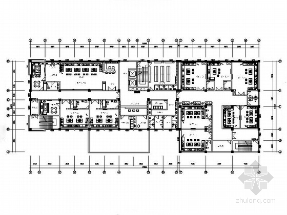 [贵州]豪华KTV室内装修CAD施工图