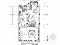 [上海]奢华一族简欧联排别墅样板间CAD装修施工图(含实景)
