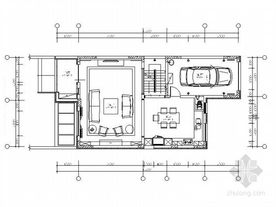 [吉林]唯一纯墅区简欧风格三层双拼别墅装修施工图(含效果)