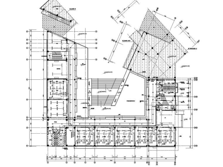 [四川]重点小学校区建筑群电气全套施工图含负荷计算书