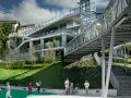 停车场里怡人的公共空间设计,清新极了