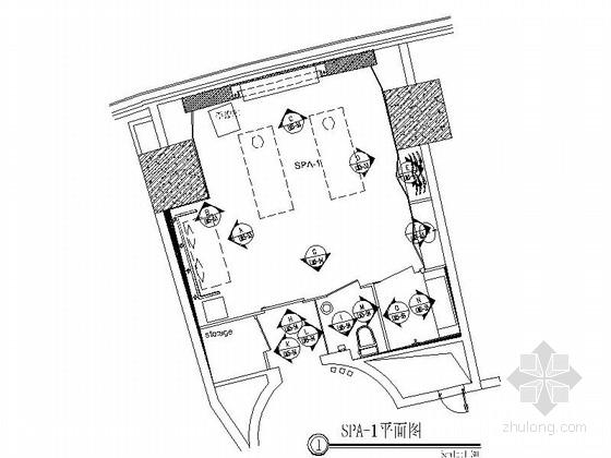 [上海]中式古韵花园酒店会所设计施工图