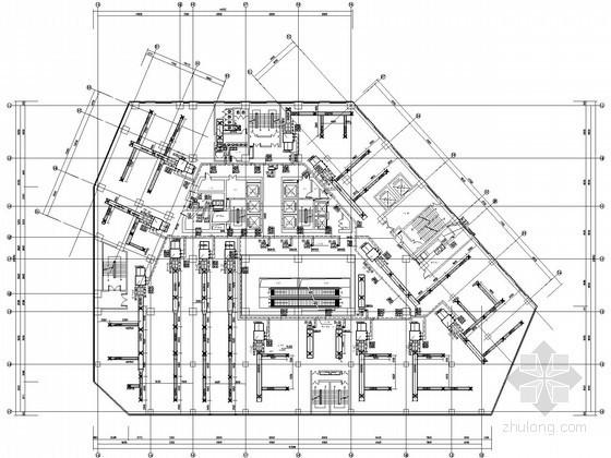 [唐山]超高层商业办公大厦空调通风设计施工图