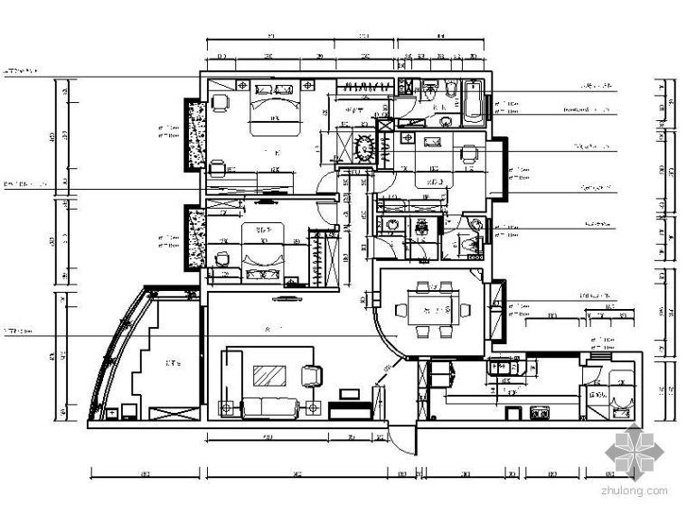 [南昌]三室两厅装修图