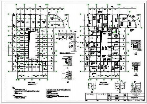 哈尔滨某保护建筑的改造加固施工图