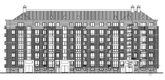 某小区六层住宅建施图