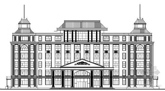 某六层欧式办公楼建筑施工图