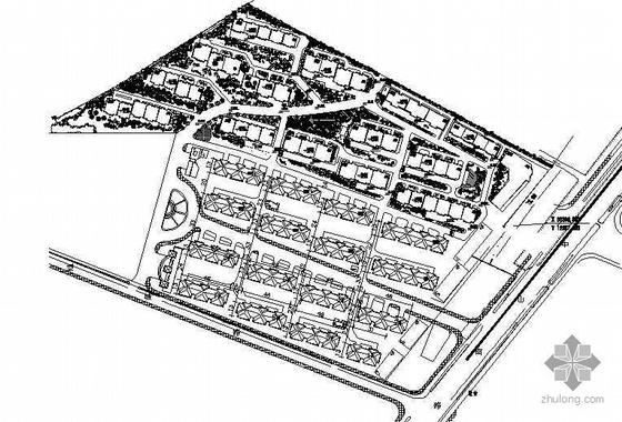 万科某小区全套绿化施工图