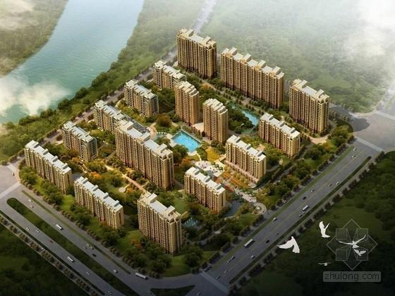 [浙江]现代风格住宅区规划及单体方案文本
