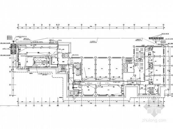 [四川]大型知名休闲区建筑群全套电气图纸(154张图)