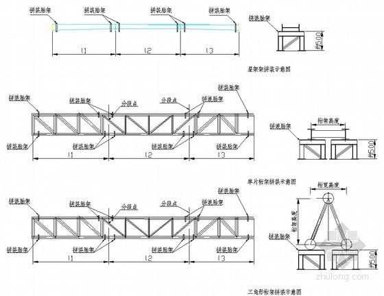 工业厂房工程桁架钢结构、屋面钢结构施工方案