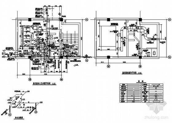 某采暖热交换站设计图纸