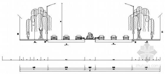 某道路市政电气管线与照明施工图纸