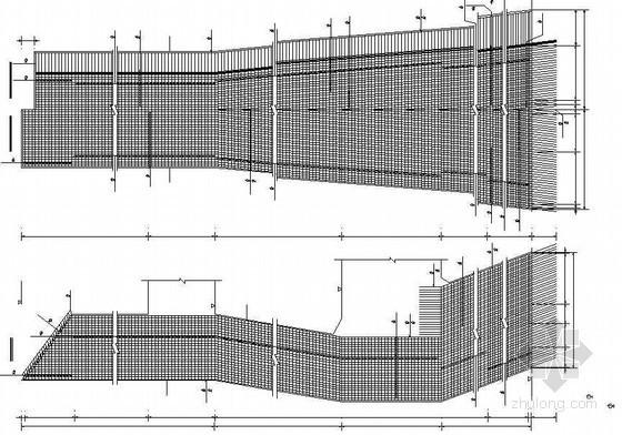 主跨500米PC斜拉桥主桥下部全套设计图纸