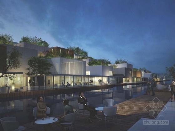 [江苏]滨水复合型商业街区规划设计方案文本