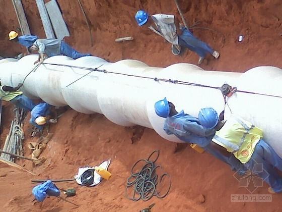 [国外]市政道路钢筋混凝土管及检查井施工技术交底