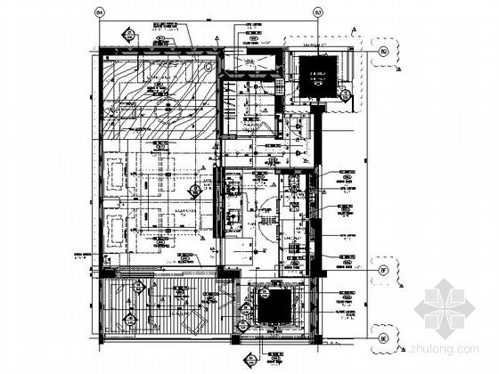 [海南]超五星级豪华酒店客房施工图(含效果)