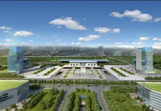经济开发区市政广场工程施工组织设计(57页)