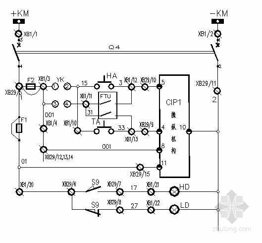 某环网柜电气设计图