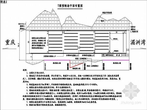 30米及35米T梁预制施工方案