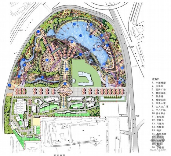 深圳某海洋公园景观设计方案