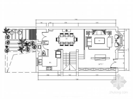 精品独栋现代简约三层别墅室内装饰施工图(含效果及软装配饰)