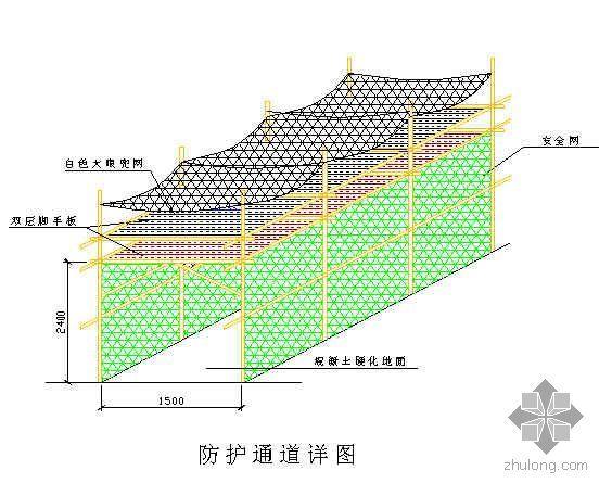北京某礼堂改建工程安全文明样板工地施工方案
