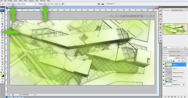 干货 SketchUp+photoshop快速渲染制作建筑景观效果图教程_15