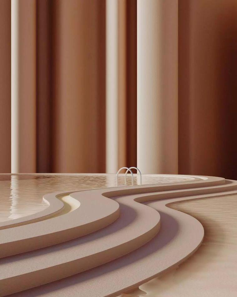 建筑设计中的点线面_5