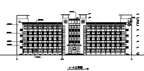 [江苏]某中学综合实验楼建筑施工图