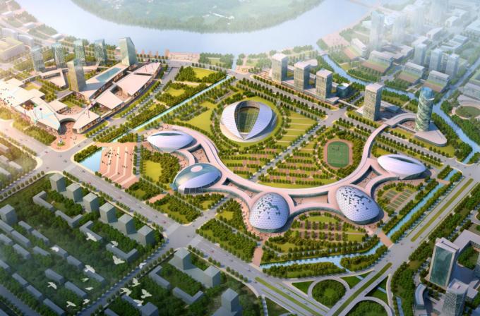 [浙江]综合型滨江生态水岸低碳创新产业城市规划设计方案(2017最新)_2