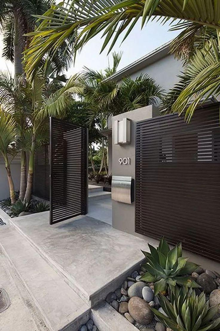 用心设计过的围墙,能让你家小院瞬间与众不同!_22