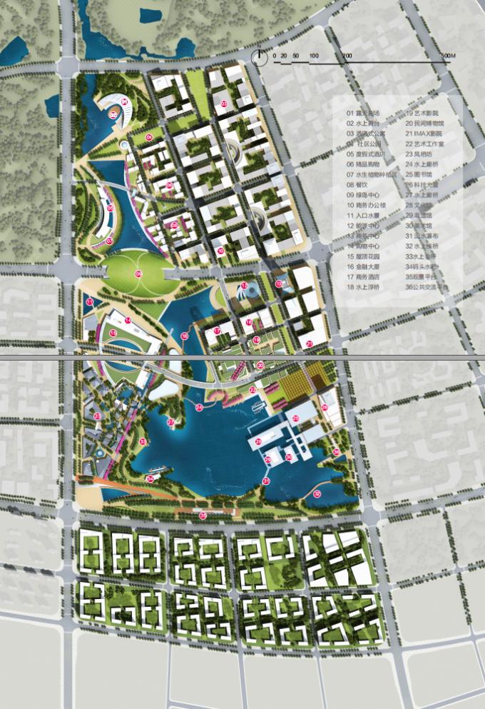 [江苏]滨江现代低碳示范区山水田园城市规划景观设计方案_8