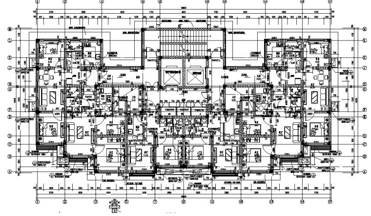 十七层装配式住宅楼全套建筑施工图
