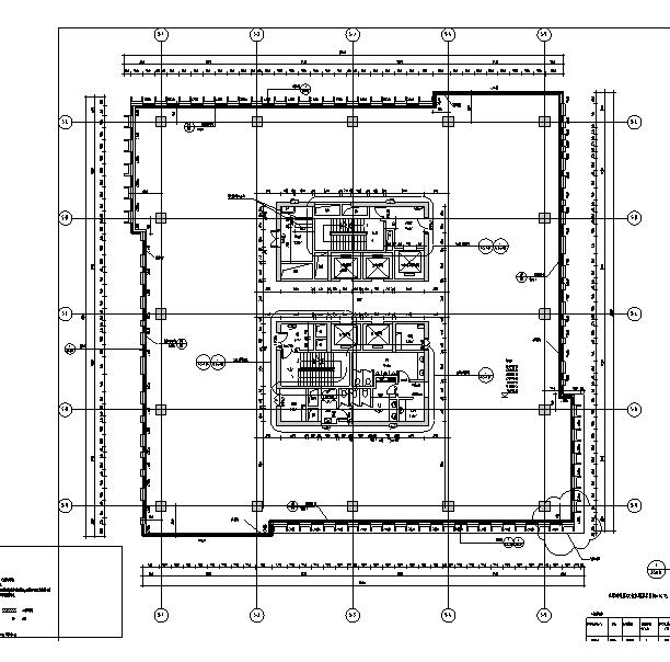 [上海]13栋高层框剪小工结构反思全专业施工图住宅教案画图建筑纸程师图片