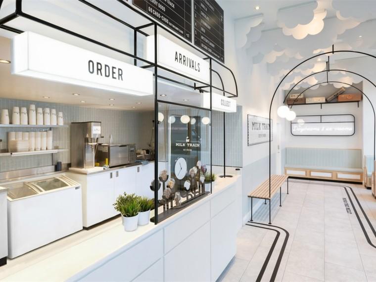 英国ins风MilkTrain冰淇淋店
