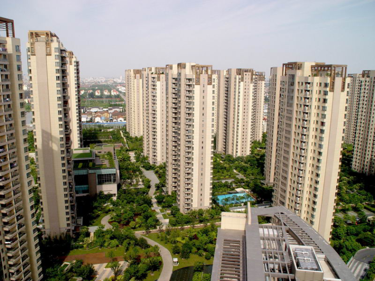 高层住宅小区施工质量创优汇报(高档全装修-鲁班奖)
