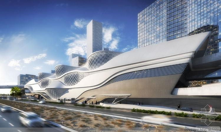 地铁上盖超高层建筑的设计实践